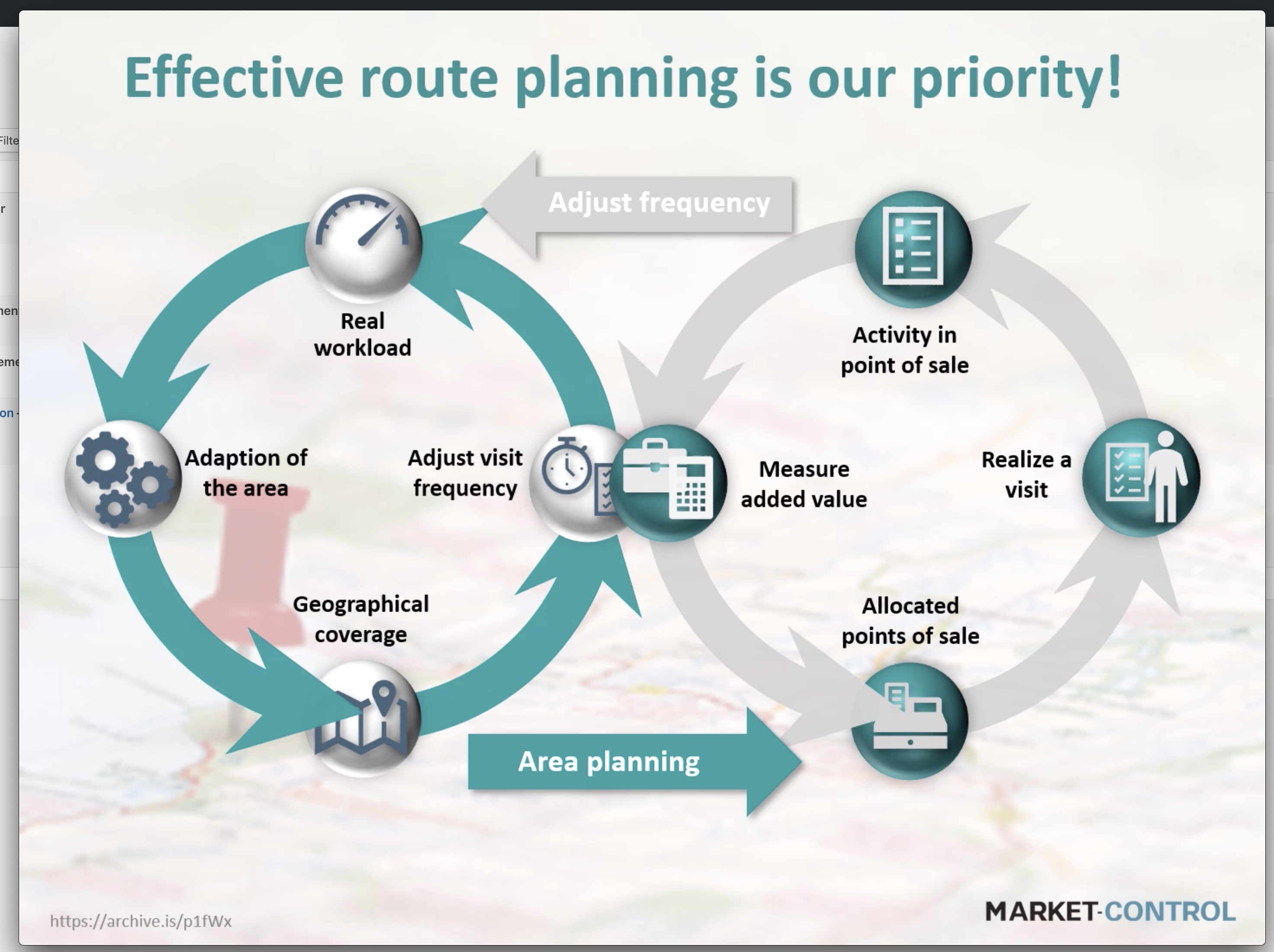 Effective route planning is our priority!