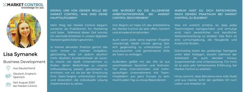 Das Market Control Team
